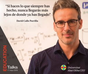 David Calle Evento Educativo EDUCATION Talks 17 Mayo 2018