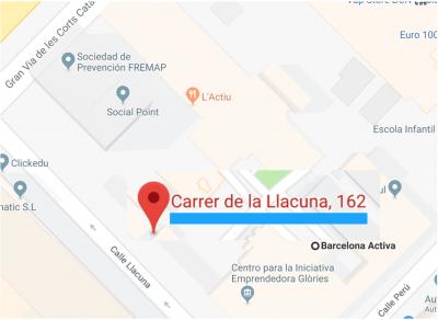Calle LLacuna 162-164 Barcelona