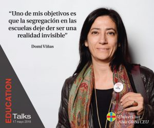 Domi Viñas Education Talks Evento Educativo 17 Mayo 2018