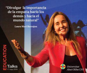Laura Mari Barrajón Evento Educativo EDUCATION Talks 17 Mayo 2018