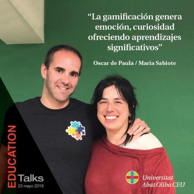 PONENTES: OSCAR DE PAULA y MARIA SABIOTE