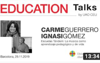 Arte y Educacion Carme Guerrero y Ignasi Gomez